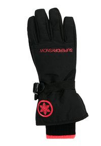 Superdry - ULTIMATE SNOW SERVICE GLOVE - Fingervantar - black/hyper pink - 1