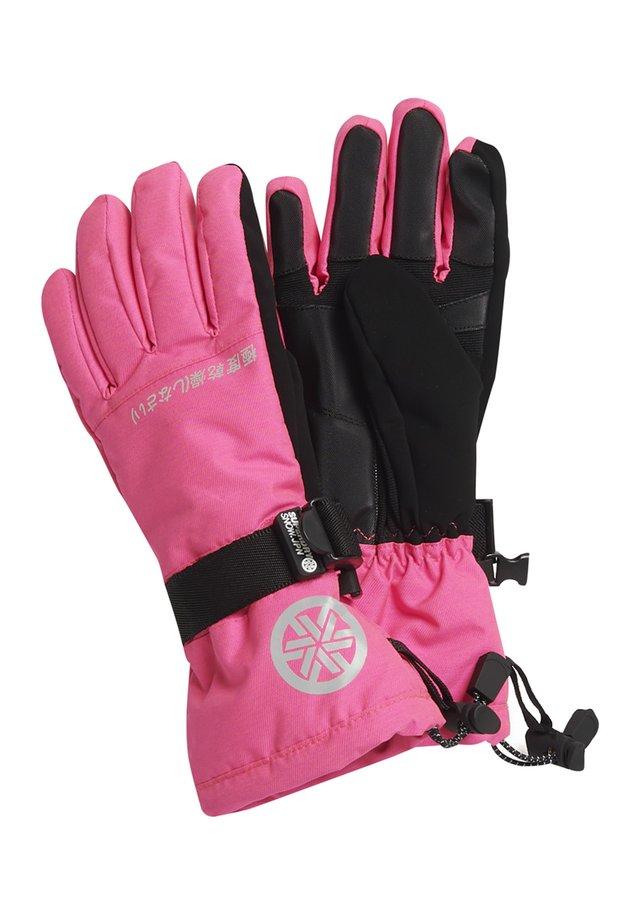 ULTIMATE SNOW RESCUE GLOVE - Fingerhandschuh - luminous pink grit
