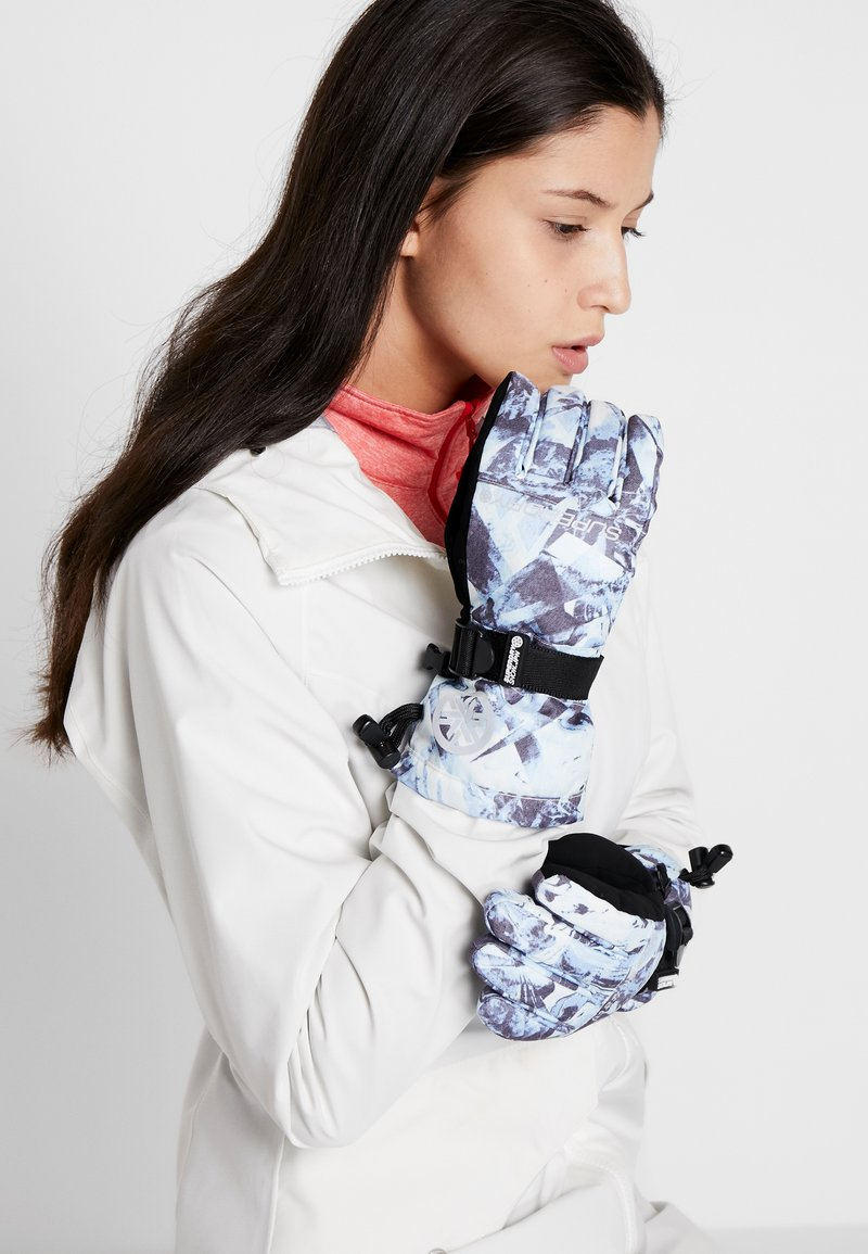 Superdry - ULTIMATE SNOW RESCUE GLOVE - Fingervantar - frosted blue ice