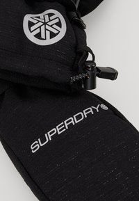 Superdry - ULTIMATE SNOW RESCUE MITTEN - Muffole - onyx black frost - 4