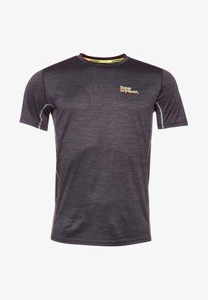 MIT KURZEN ÄRMELN - Basic T-shirt - grey