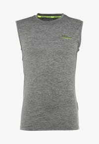 Superdry - ACTIVE SMALL LOGO GRAPHIC TANK - Funktionsshirt - monogranite marl - 4