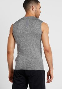 Superdry - ACTIVE SMALL LOGO GRAPHIC TANK - Funktionsshirt - monogranite marl - 2