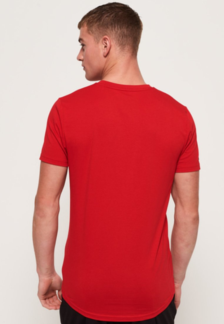 Red CoreT Imprimé CoreT Superdry Superdry Imprimé Red shirt Imprimé shirt shirt CoreT Superdry fgb6yvY7