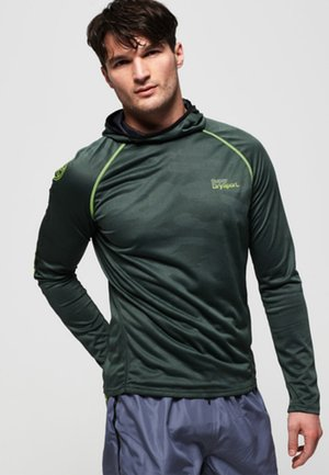 SUPERDRY - Sports shirt - cool olive