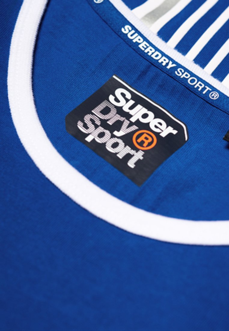 Superdry T Stampa Blue Con Royal shirt WED29IH