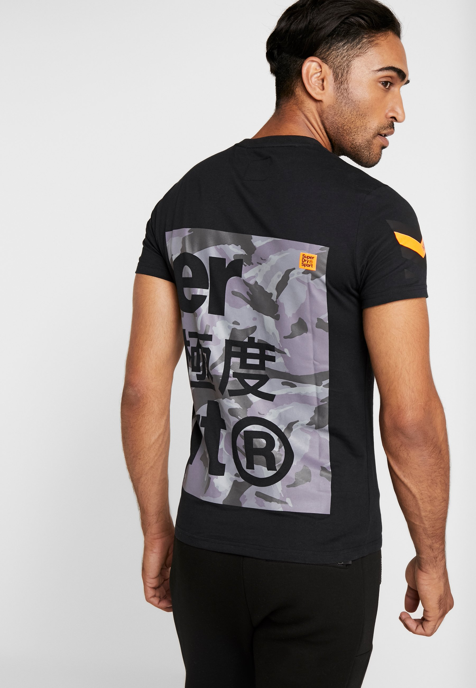 Stampa Combat Black Superdry TeeT Con Boxer shirt nwPX80Ok