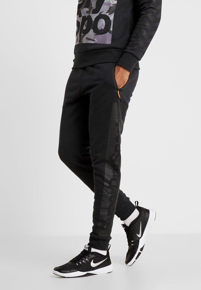 COMBAT BOXER JOGGER - Pantalon de survêtement - black