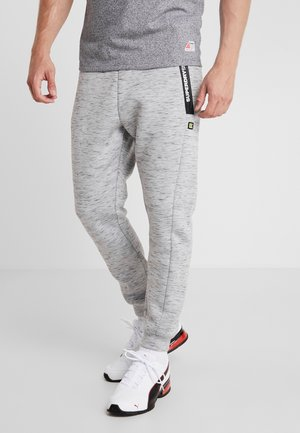 CORE GYM TECH - Pantalones deportivos - light grey marl