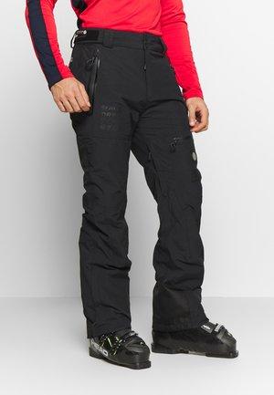 PRO RACER RESCUE PANT - Skibroek - onyx black