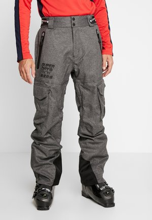 ULTIMATE SNOW RESCUE PANT - Spodnie narciarskie - black tex rock