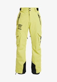 Superdry - ULTIMATE SNOW RESCUE PANT - Zimní kalhoty - sulpher yellow - 5