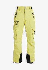 Superdry - ULTIMATE SNOW RESCUE PANT - Pantalon de ski - sulpher yellow - 5