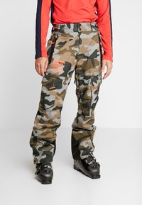 Superdry - ULTIMATE SNOW RESCUE PANT - Talvihousut - rock - 0