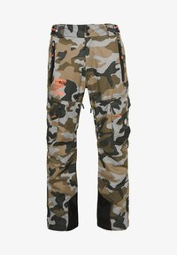 Superdry - ULTIMATE SNOW RESCUE PANT - Talvihousut - rock - 5