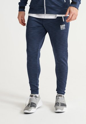 Tracksuit bottoms - beechwater blue marl