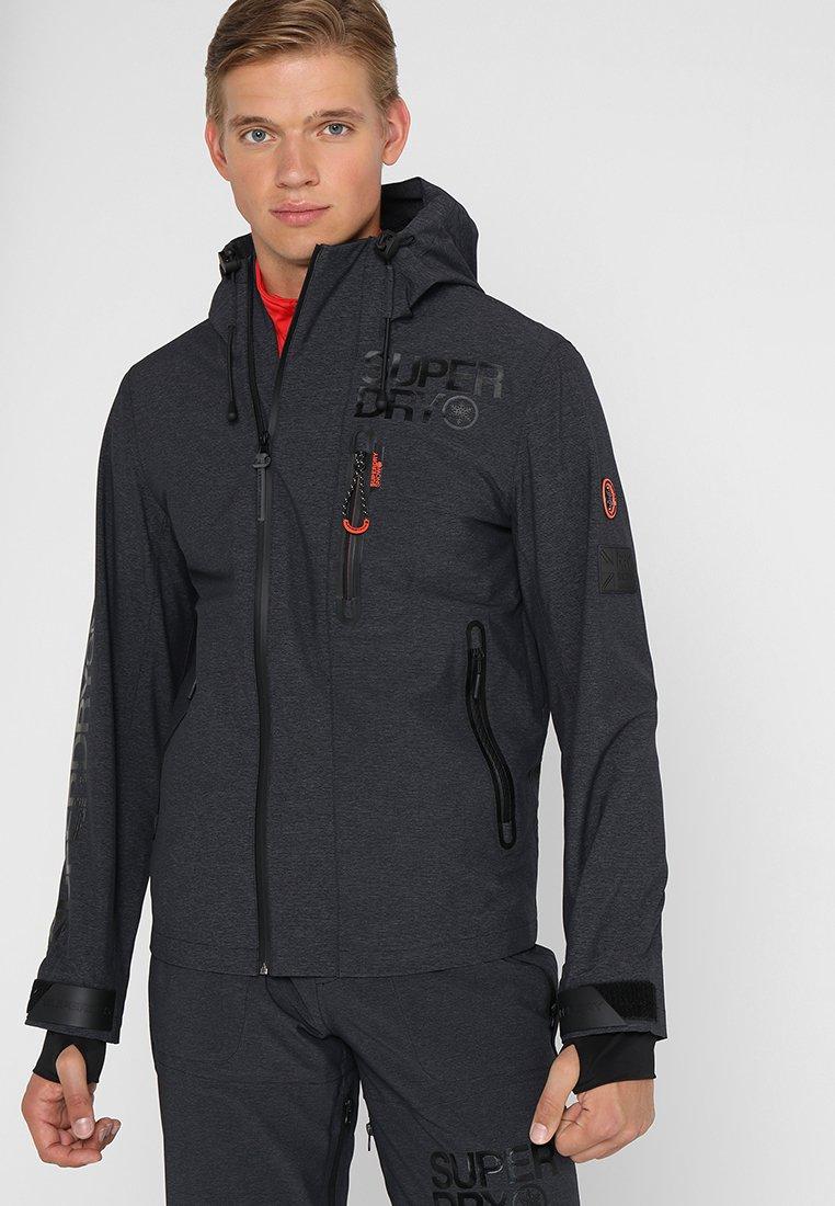 Superdry - FLEX 360 JACKET - Hardshell jacket - basalt black grit