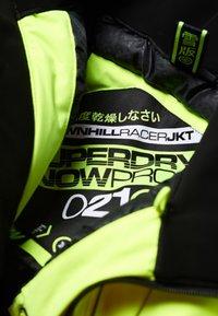 Superdry - DOWNHILL RACER  - Skidjacka - yellow - 4