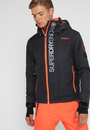 SUPER MULTI JACKET - Ski jacket - scratch black