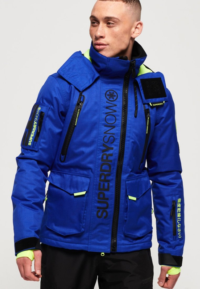 Superdry - ULTIMATE SNOW RESCUE JACKET - Skijacke - blue