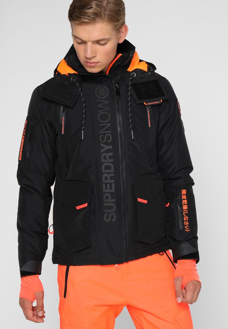 ULTIMATE SNOW RESCUE Snowboardjacke black