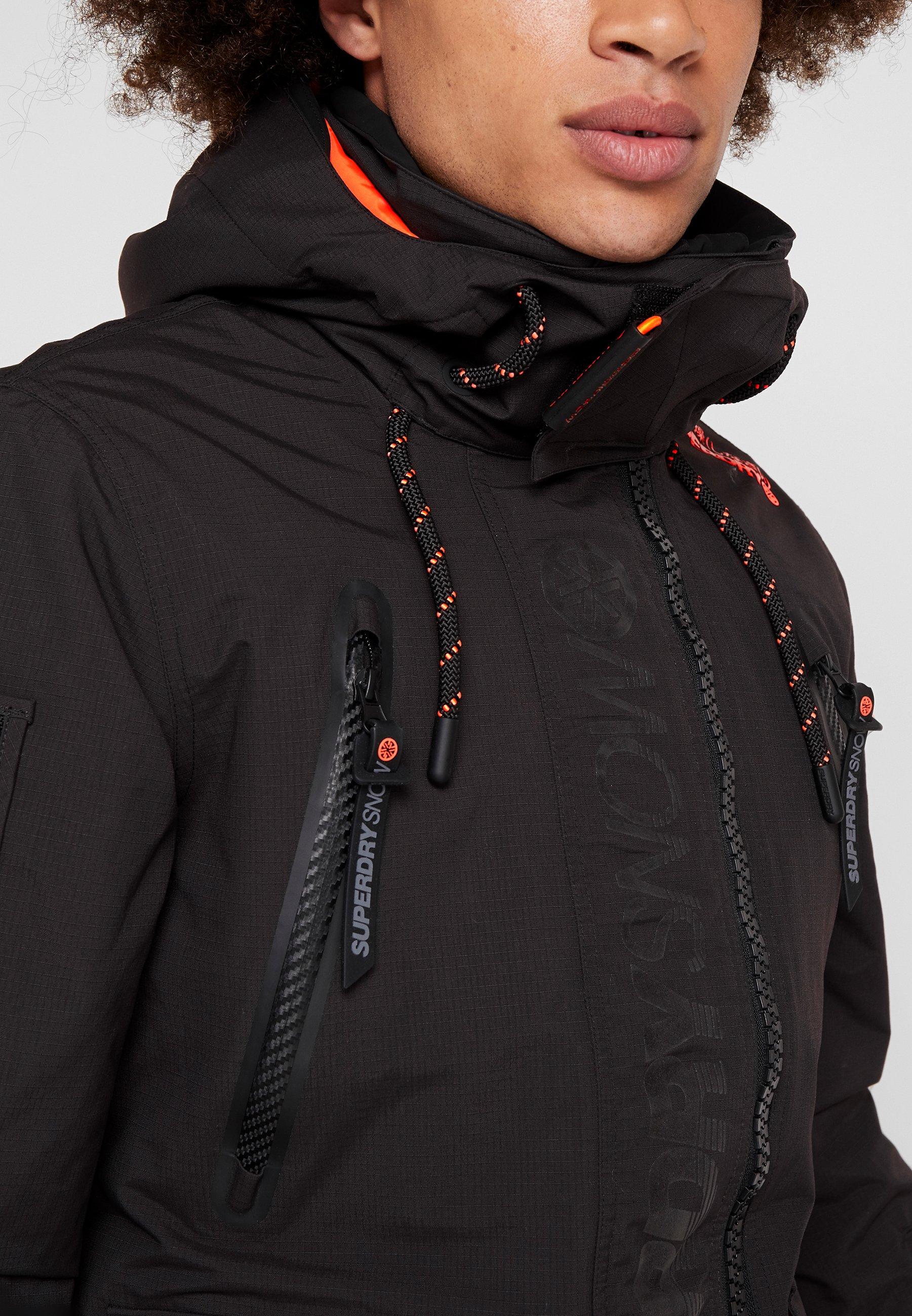 ULTIMATE SNOW RESCUE Veste de snowboard onyx black