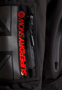 Superdry - ULTIMATE SNOW RESCUE - Snowboardjas - onyx black - 8