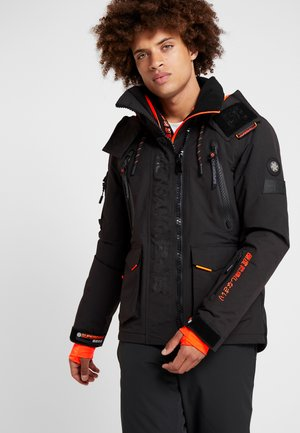 ULTIMATE SNOW RESCUE - Kurtka snowboardowa - onyx black