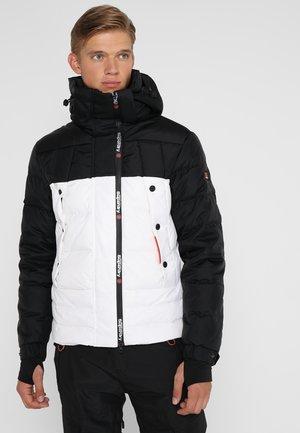SUPER CANADIAN  - Chaqueta de esquí - black/white