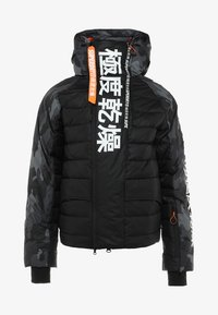 Superdry - JAPAN EDITION SNOW JACKET - Kurtka narciarska - black - 10