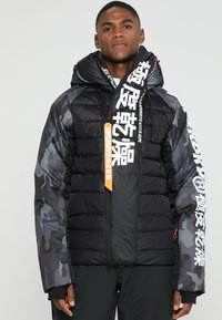Superdry - JAPAN EDITION SNOW JACKET - Kurtka narciarska - black - 0