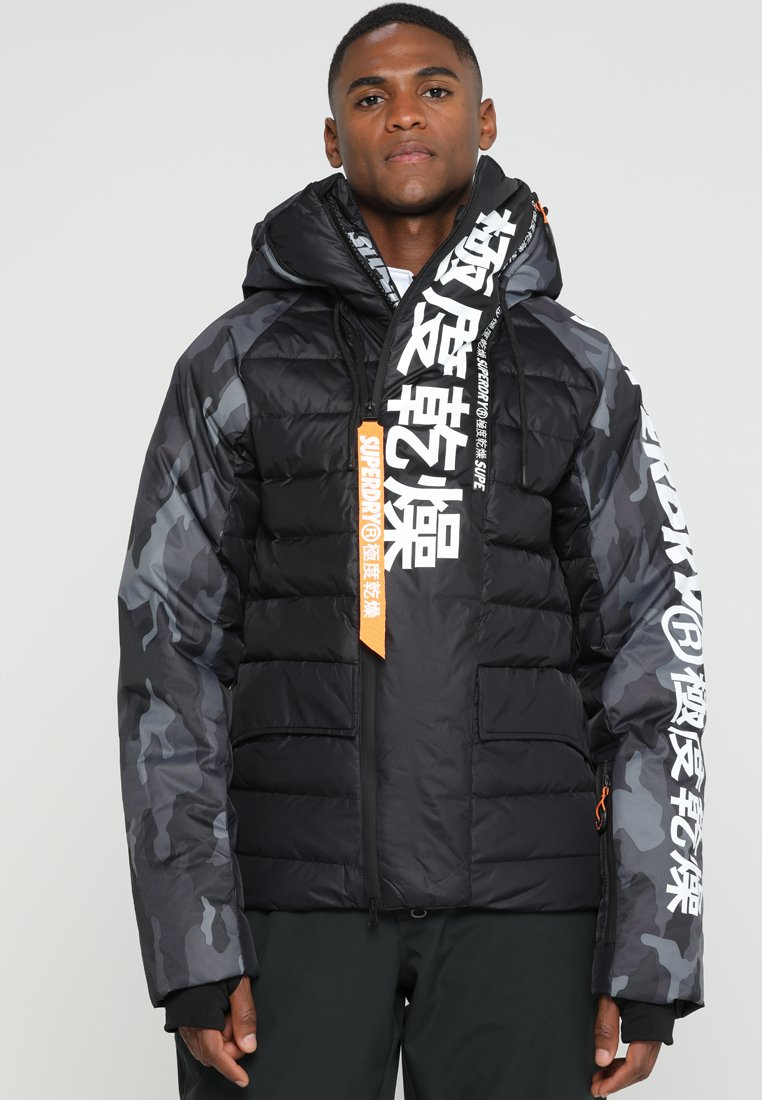 Superdry - JAPAN EDITION SNOW JACKET - Kurtka narciarska - black