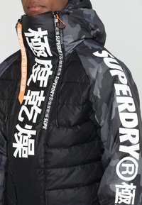 Superdry - JAPAN EDITION SNOW JACKET - Kurtka narciarska - black - 4