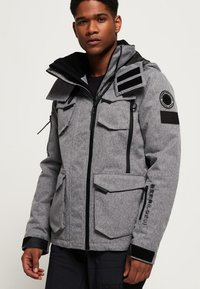 Superdry - ULTIMATE SNOW ACTION - Veste de ski - mottled grey - 3