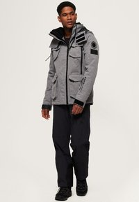 Superdry - ULTIMATE SNOW ACTION - Veste de ski - mottled grey - 1