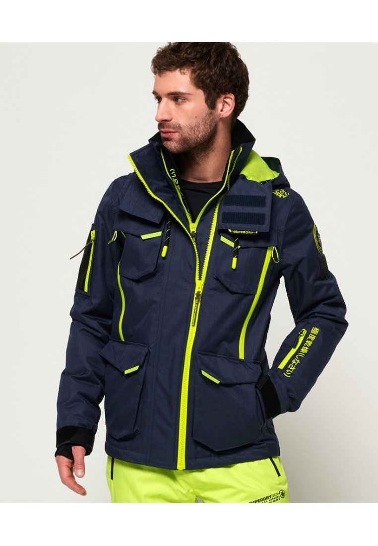 Superdry - ULTIMATE SNOW ACTION - Giacca da sci - night grenade