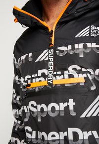 Superdry - JAVELIN IMPACT JAMMER - Veste de survêtement - black - 4