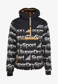 Superdry - JAVELIN IMPACT JAMMER - Veste de survêtement - black - 5