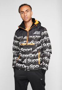 Superdry - JAVELIN IMPACT JAMMER - Veste de survêtement - black - 0