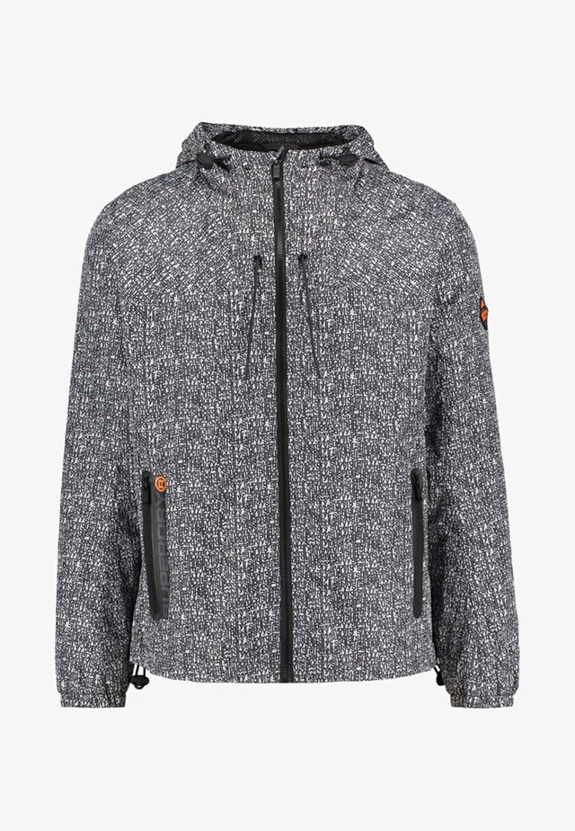 SUPERSTORM CAGOULE - Löparjacka - anthracite