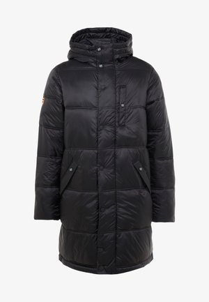 STREET LONGLINE PUFFER - Winter coat - jet black