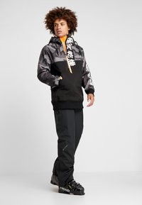 Superdry - SNOW TECH JAPAN EDITION HOOD - Softshelljacke - flat black - 1