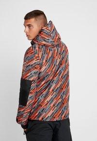 Superdry - Kurtka narciarska - orange/grey - 2