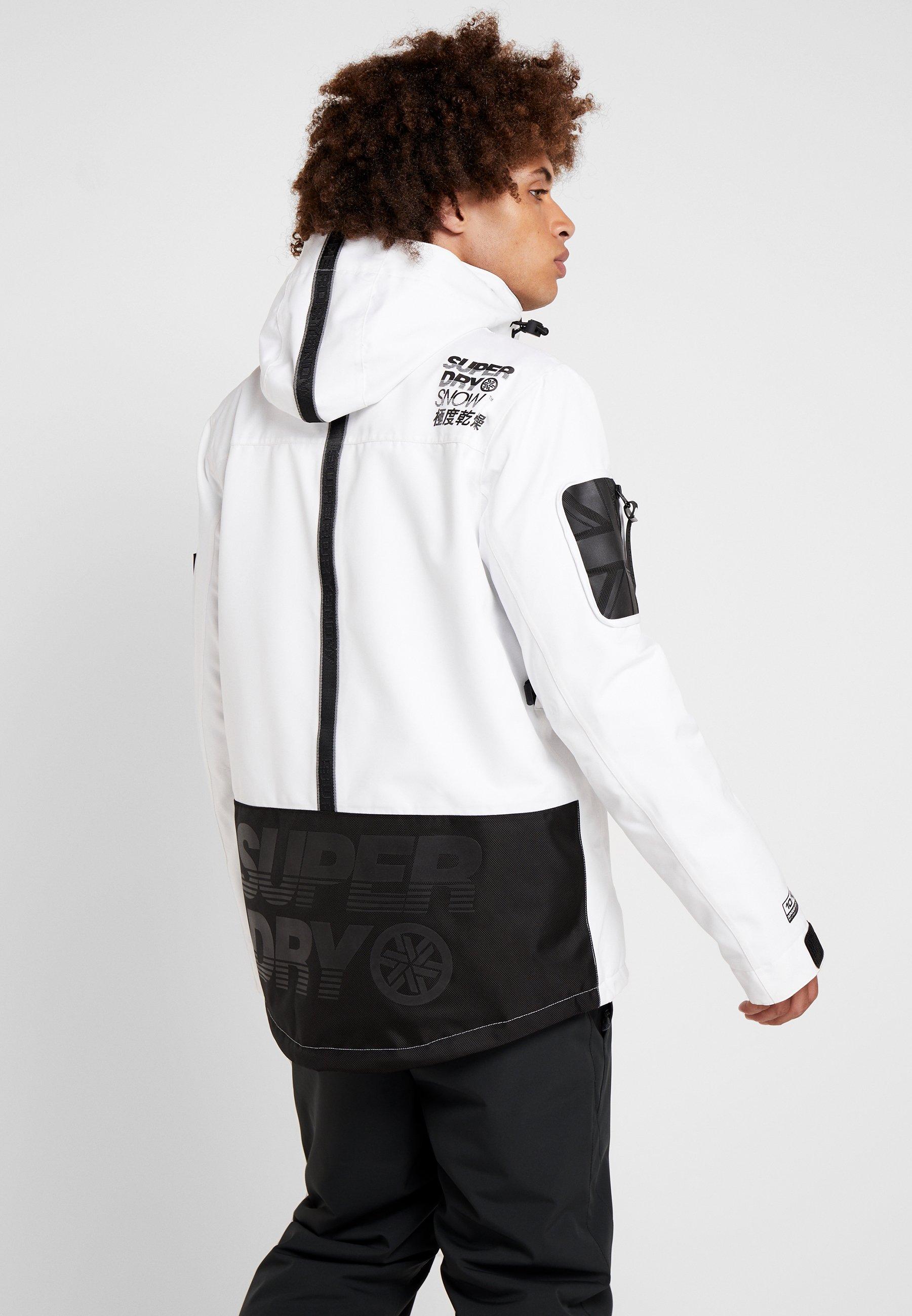 SNOW RESCUE OVERHEAD JACKET Ski jas arctic white