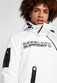 Superdry - SNOW RESCUE OVERHEAD JACKET - Laskettelutakki - arctic white - 3