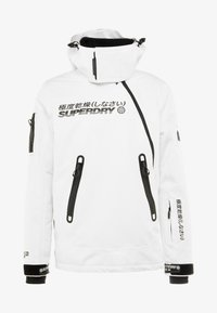 Superdry - SNOW RESCUE OVERHEAD JACKET - Laskettelutakki - arctic white - 8