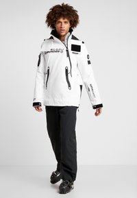 Superdry - SNOW RESCUE OVERHEAD JACKET - Laskettelutakki - arctic white - 1