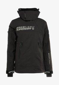 Superdry - SNOW RESCUE OVERHEAD JACKET - Ski jacket - onyx black - 7