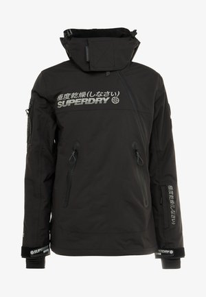 SNOW RESCUE OVERHEAD JACKET - Ski jas - onyx black