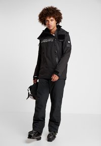 Superdry - SNOW RESCUE OVERHEAD JACKET - Ski jacket - onyx black - 1